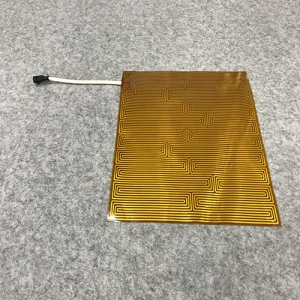 350×350×0.3 MM 12V-147W-0.98Ω PI heater for medical product